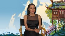 Angelina Jolie Chats About 'Kung Fu Panda 3' And Being A Tiger