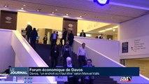 """Davos, """"un endroit où il faut être"""" selon Manuel Valls"""
