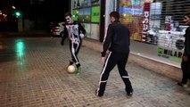 Halloween Futbol Callejero (Parte 2) - Street Futsal Football Skills & Panna Futbol Sala