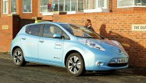 Nissan EV Taxis Pass Three Million Mile Mark in UK