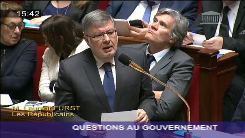 Réseau routier français : A. Vidalies répond à une question au Gouvernement