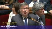 Filière ferroviaire française : A. Vidalies répond à une question au Gouvernement