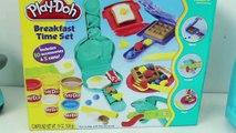 Play-Doh le petit-Déjeuner Ensemble Comment Faire De petit-Déjeuner w/ Pâte à modeler Desayuno Jouet Aliments Vidéos