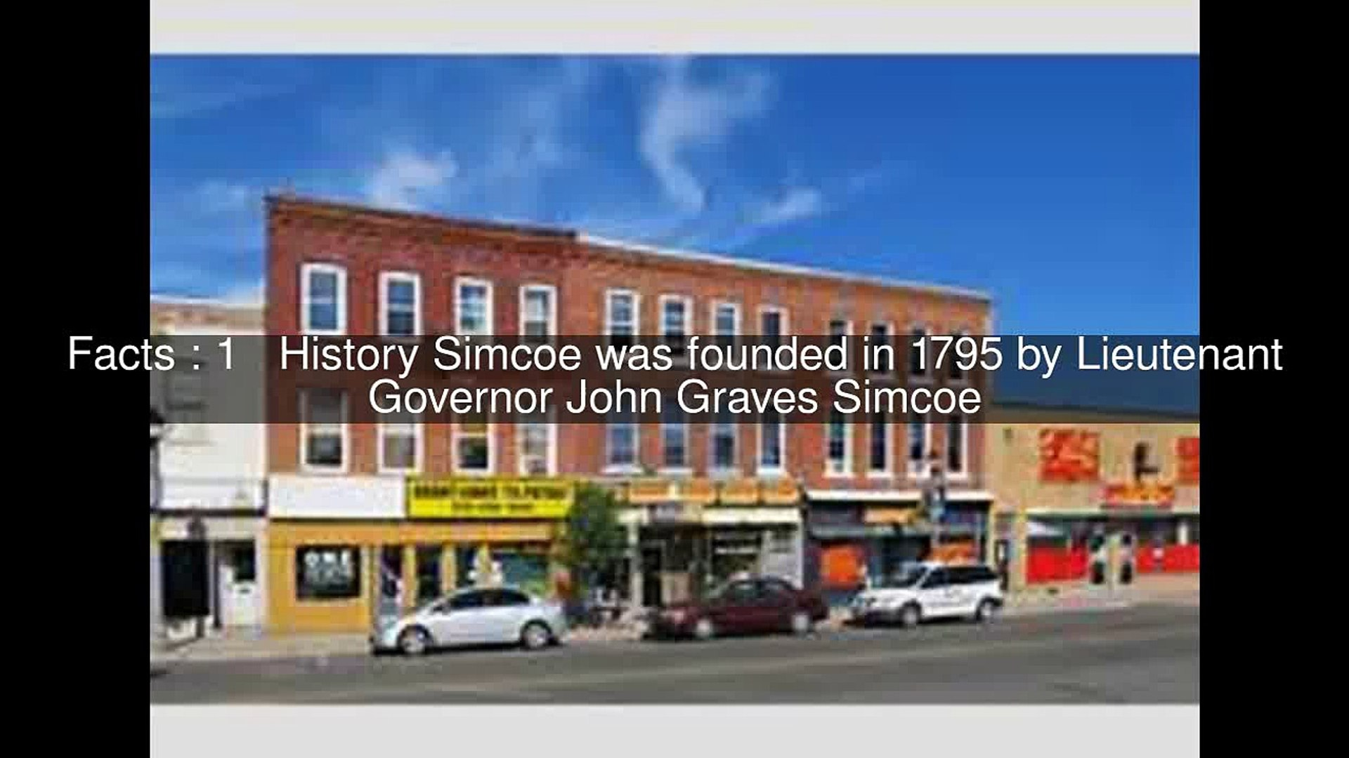 History of Simcoe, Ontario Top 8 Facts