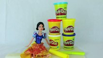 Play Doh Disney Princess Barbie Snow White Princess Dress Gown From Play Doh on Barbie