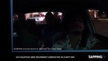 Un chauffeur Uber agressé et frappé par un client ivre, les images chocs (vidéo)