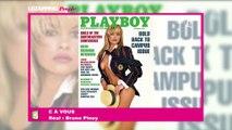 Pamela Anderson se confie sur sa première une de Playboy