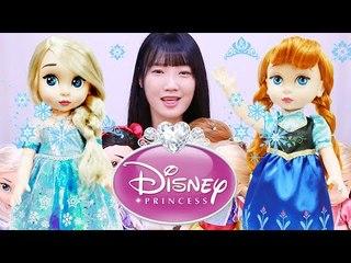 디즈니 프린세스 골드라벨/디즈니 공주 인형- Disney Princess doll  ディズニーおもちゃИгрушки đồ chơi jouet 넹또의 장난감 놀이[또이]