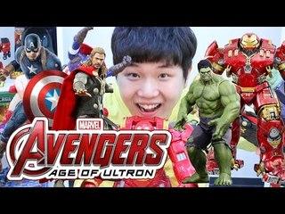 말하는 어벤져스2 피규어! 아이언맨 토르 캡틴아메리카 헐크 Avengers:age of ultron Titan hero tech sound action figure