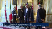 """Objectif de la reunion de la coalition contre l""""EI : mobiliser plus de militaires et de pays partenaires"""