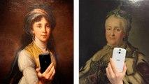 """Le meilleur de la """"journée du selfie au musée"""""""