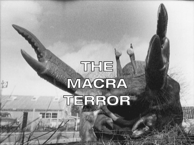 Loose Cannon The Macra Terror Introduction Terence Lodge