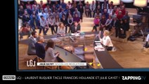 LGJ - Laurent Ruquier tacle François Hollande et Julie Gayet !