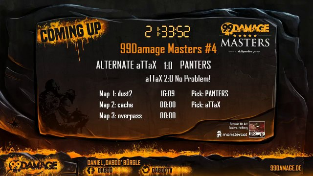 aTTaX vs PANTERS @20:15CET 99Damage Masters #4 (211)