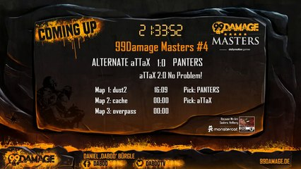 aTTaX vs PANTERS @20:15CET 99Damage Masters #4 (211)