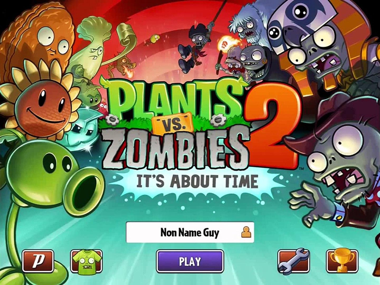 игра мультик приключеник овощи против зомби 2 игра египед часть 1 # 1