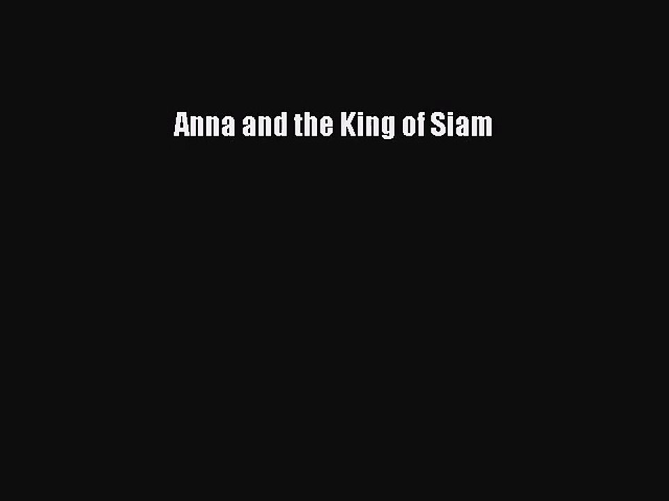 anna and the king of siam ebook free download