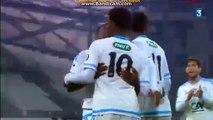 Georges-Kevin N'Koudou Goal 1:0}  Marseille vs Montpellier (Coupe de France) 20.01.2016 HD