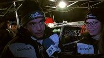 D!CI TV : Rallye Monte Carlo : Thibaut Poizot et Eva Arnaud livre son ressenti du shakedown