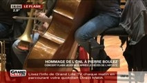 Hommage de l'ONL à Pierre Boulez