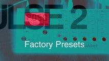 Waldorf Pulse 2 -- Playing 100 Factory Presets 001-109//Part2