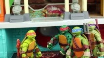 Teenage Mutant Ninja Turtles Go Bowling with TMNT Bowling Pins and Bowling Ball by ToysReviewToys