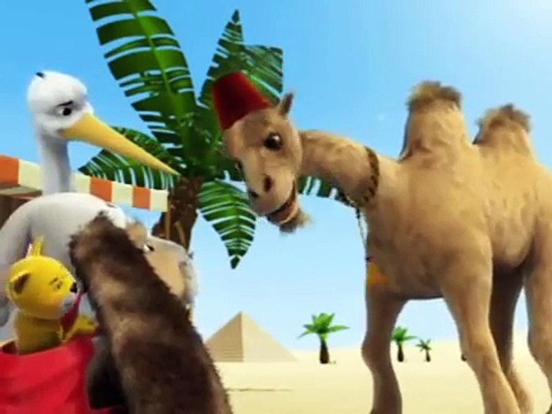 Развивающие мультфильмы - Випо в Египте. Египетские Пирамиды