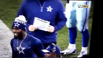 Dez Bryant and Greg Hardy get into shouting match on Cowboys sideline