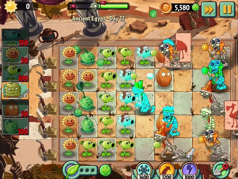 игра мультик приключеник овощи против зомби 2 игра египед часть 4 заключительная # 2