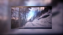 DICI TV - Un camping car se renverse pendant le Rally Monte carlo