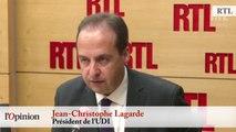 Jean-Christophe Lagarde (UDI) : Sur les entrepreneurs « Emmanuel Macron a raison »