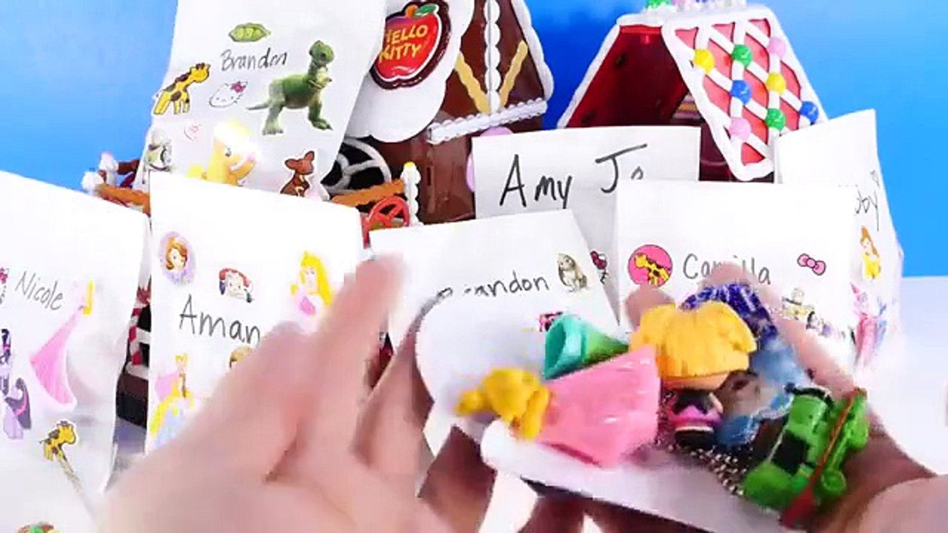 How To Make Toy Blind Bags At Home Disney Princess Hello Kitty Mlp Sofia The First Video Dailymotion