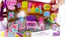 Play Doh Princess Celebration Bakery Set My Little Pony Pinkie Pie & Mrs. Dazzle Cake Play Dough