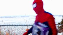 Spiderman vs Catwoman in Real Life! Spiderman is Trapped by Catwoman – Fun Superhero Mov