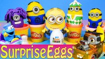 Despicable Me Minions Surprise Egg✔✔ Kinder Surprise Eggs MINIONS Dino & Napoleon Minion Toys Peppa Pig Giant Play Doh Surprise Egg MINIONS Star Wars Peppa pig Daddy Pig's Pancake Game For Kids By GERTIT Peppa Pig Play Doh Suprise Toys Play Game With Pepp