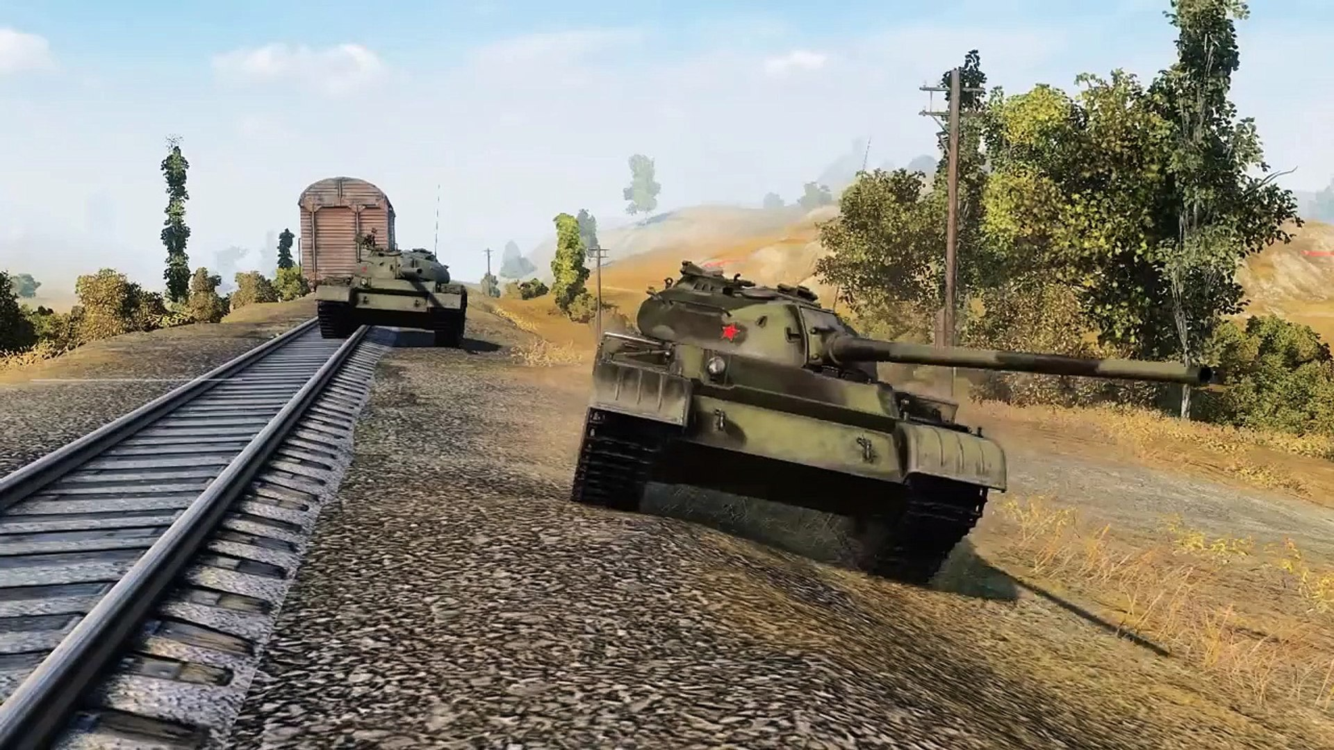 Легкий танк Т-54 - Грозный и облегчённый - Frag movie от Arti25 [World of Tanks]