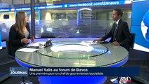 L'Europe au coeur de la visite de M. Valls à Davos
