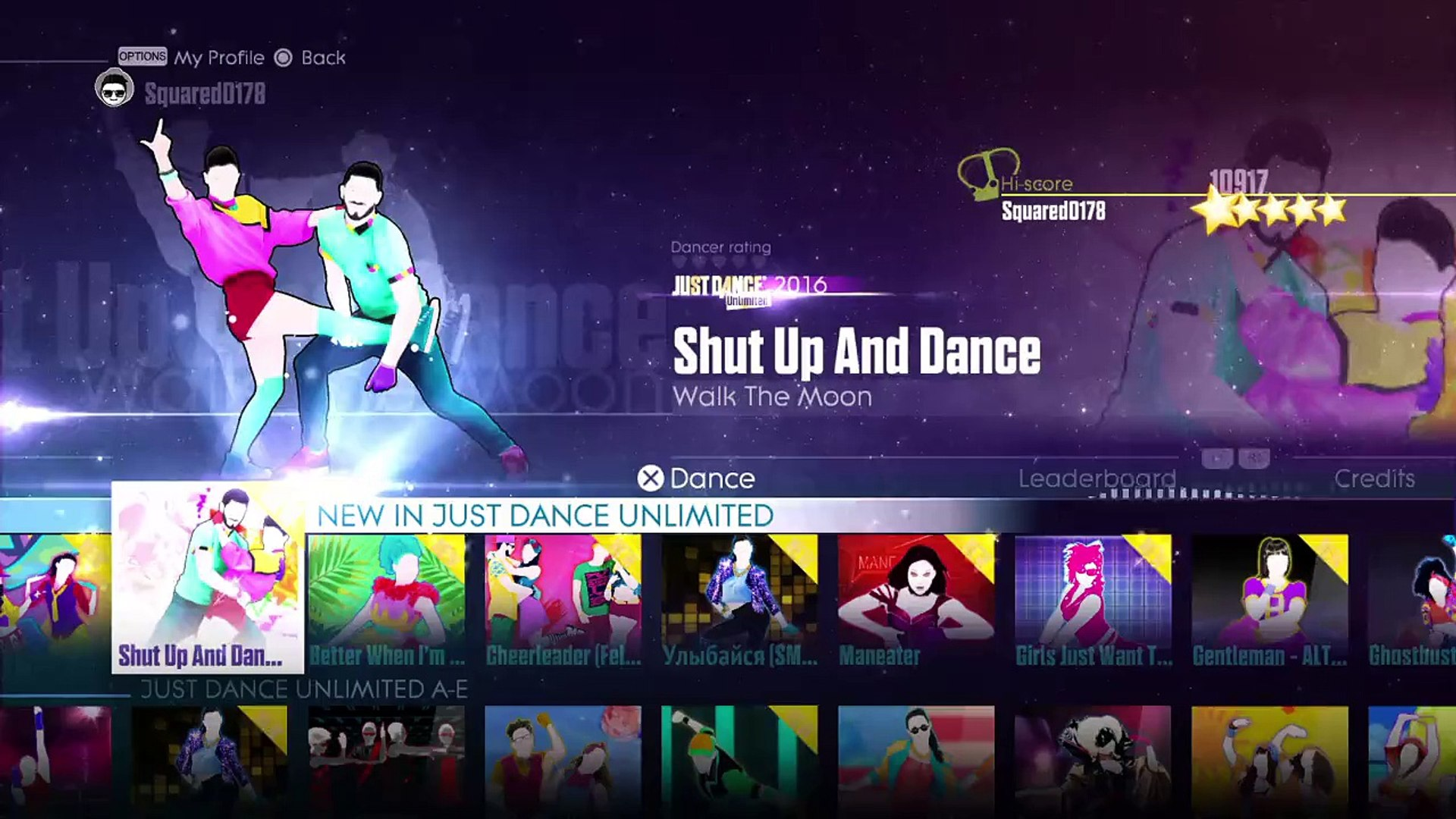 Just Dance® Unlimited - Shut Up and Dance by WALK THE MOON