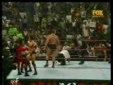 Raw 1999- Undertaker vs Big Show vs Kane vs Rock vs Mankind