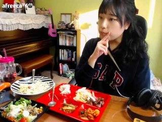 터민 소고기 스테이크+까르보나라+샐러드팩(이마트) 먹방