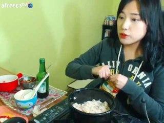 터민 치즈밥 만들기 요리먹방+ 크림순대 먹방