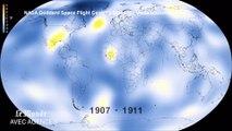 Une vidéo de la NASA montre le réchauffement climatique