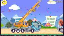 Мультфильм про строительные машины для детей Подъемный кран Самосвал Cartoon about cars