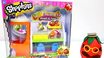 Shopkins GIANT Play Doh Egg. Shopkins Produce Stand - Fruits & Vegetables (FULL HD)