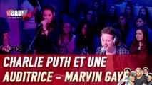 Charlie Puth et une auditrice - Marvin Gaye - Live -C'Cauet sur NRJ