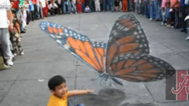 Amazing 3D Street Art Illusions Compilation 2014    => must watch