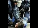 The sarko skanking-bavure-manif-police-flic-politique-censur