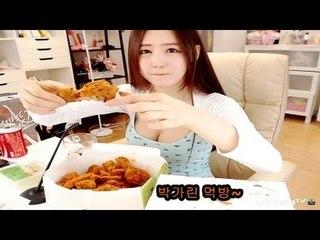 박가린님♥ BHC뿌링클 핫치킨 먹방~!