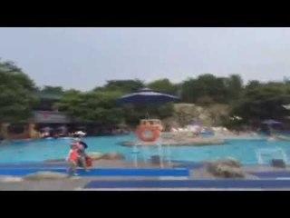 박가린님♥비키니 야외수영장♥