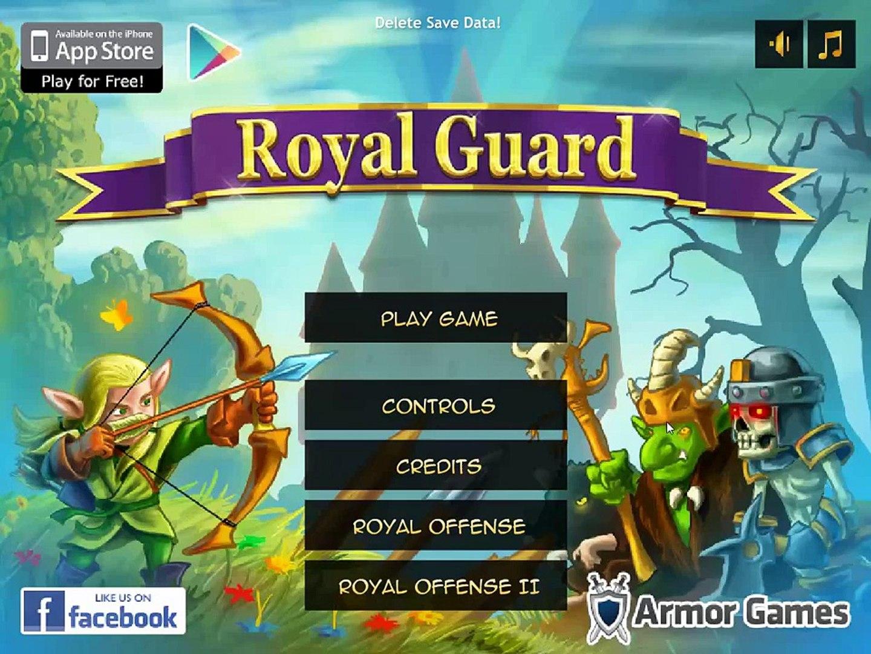 Royal Guard - игра в стиле защиты